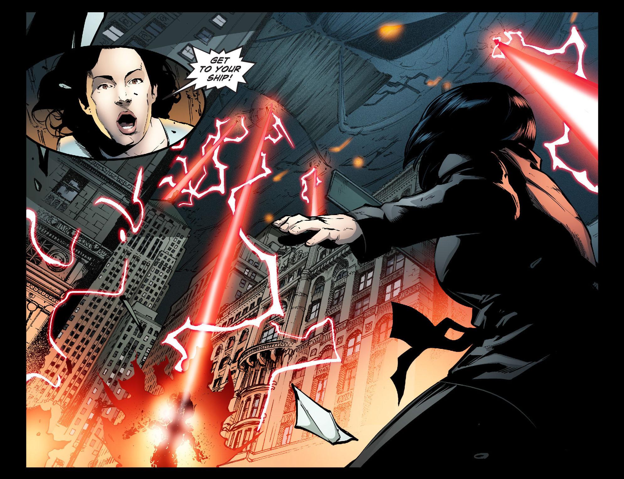Read online Smallville: Season 11 comic -  Issue #31 - 21