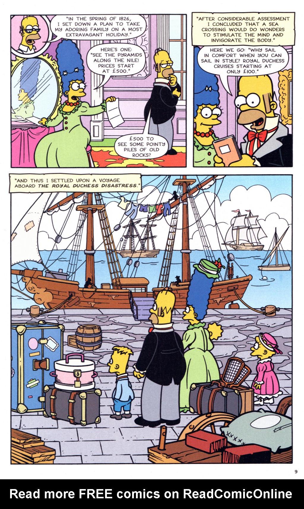 Read online Simpsons Comics comic -  Issue #127 - 8