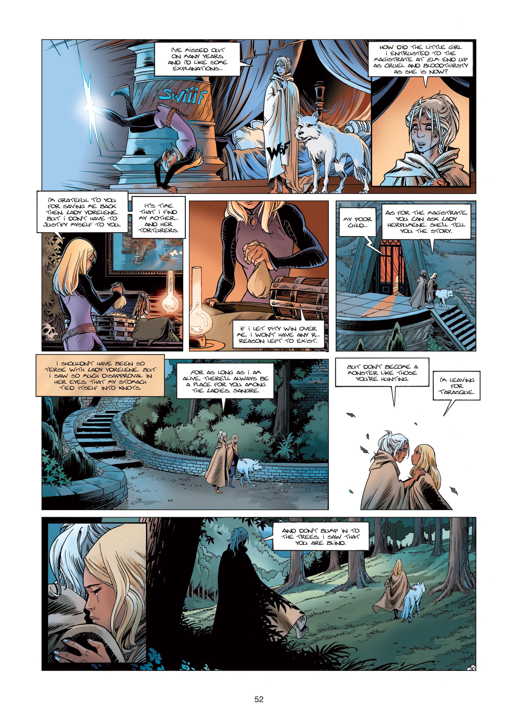 Read online Sangre Vol. 1: Sangre the Survivor comic -  Issue # Full - 52