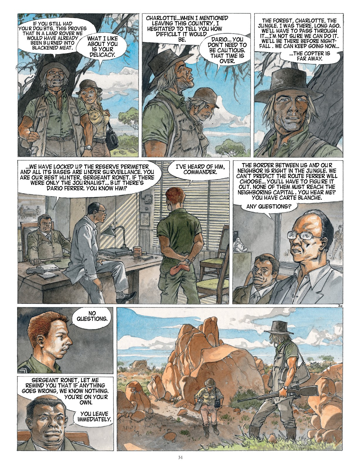 Read online Afrika comic -  Issue # TPB - 34
