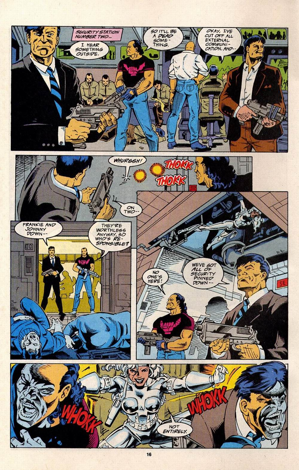 Read online Silver Sable and the Wild Pack comic -  Issue #32 - 12