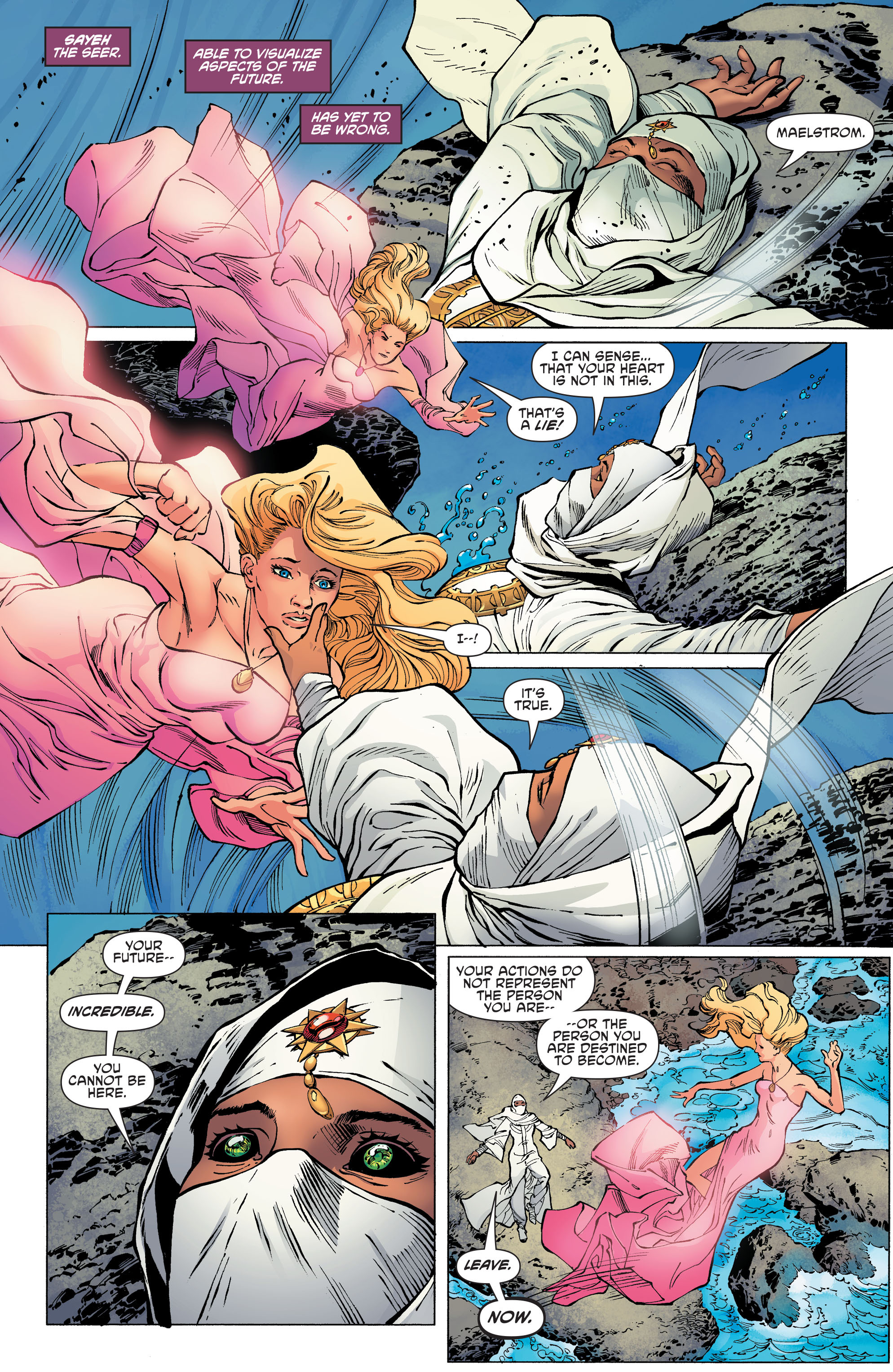 Read online Aquaman and the Others comic -  Issue #11 - 9