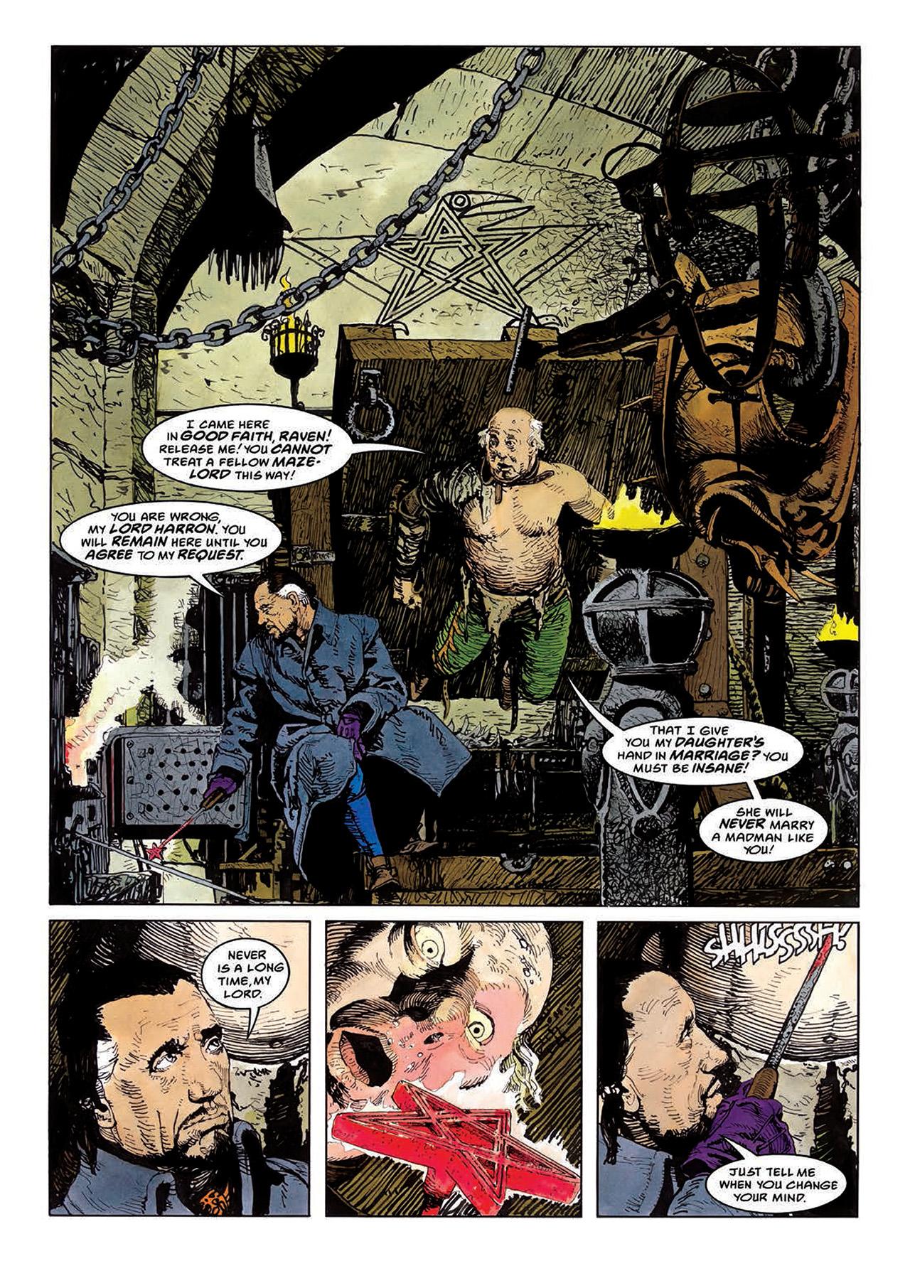 Read online Mazeworld comic -  Issue # TPB - 78