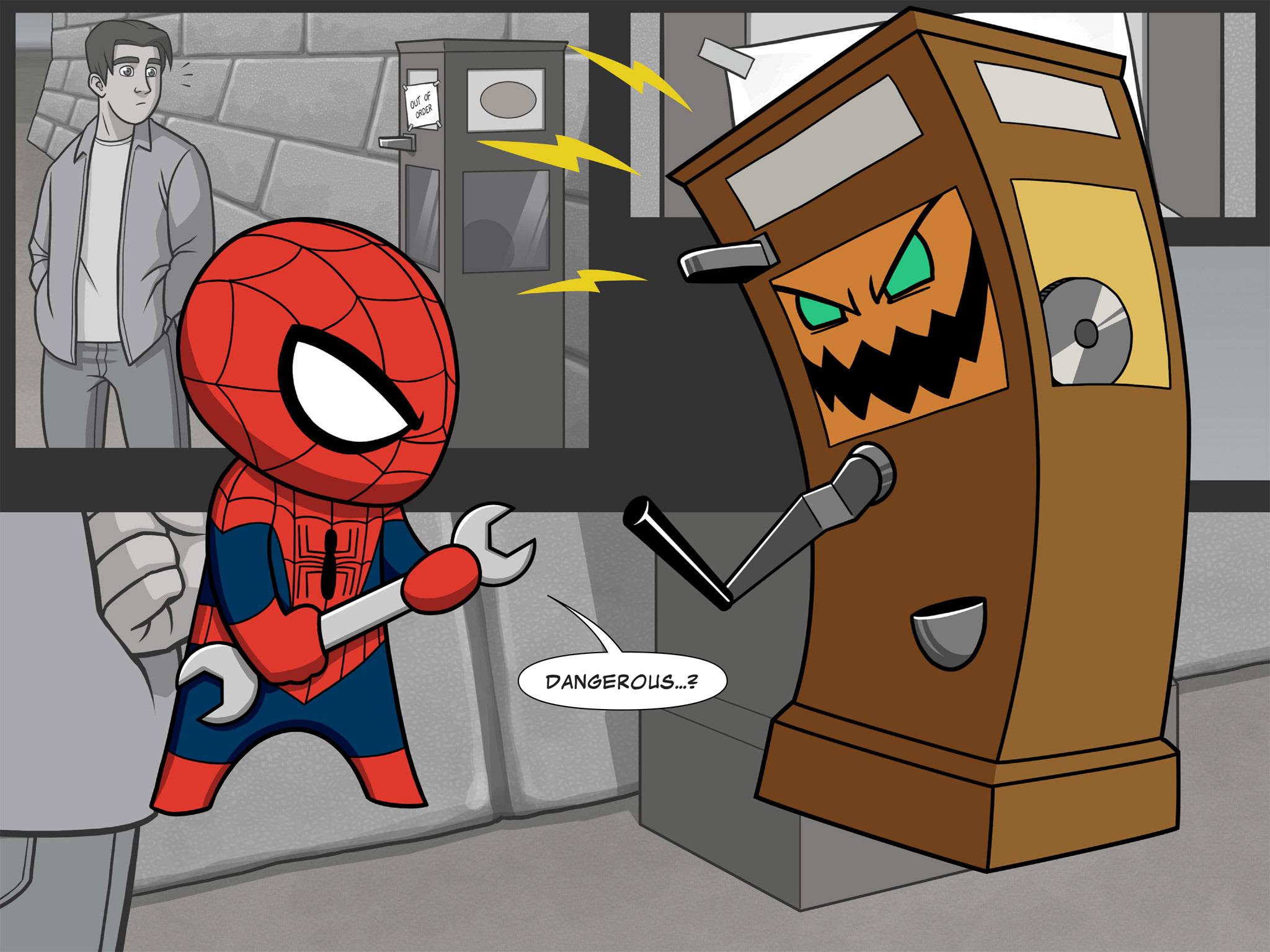 Read online Ultimate Spider-Man (Infinite Comics) (2015) comic -  Issue #7 - 14