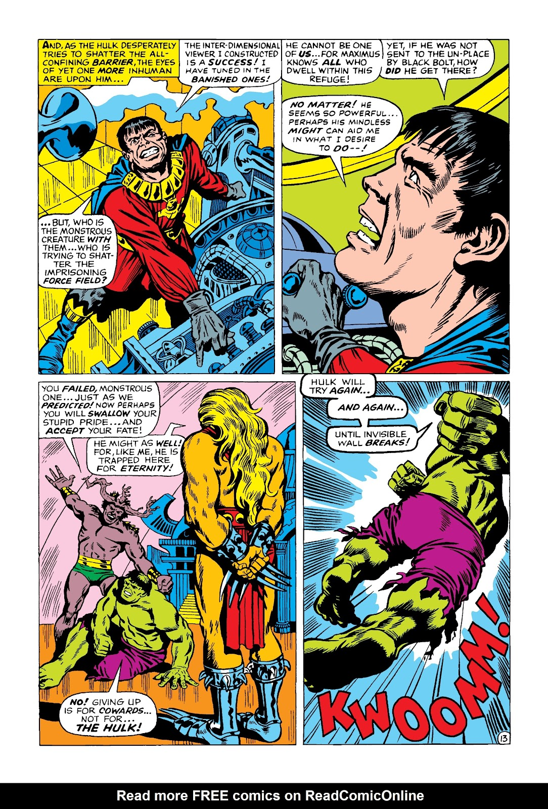 Read online Marvel Masterworks: The Incredible Hulk comic -  Issue # TPB 4 (Part 2) - 46