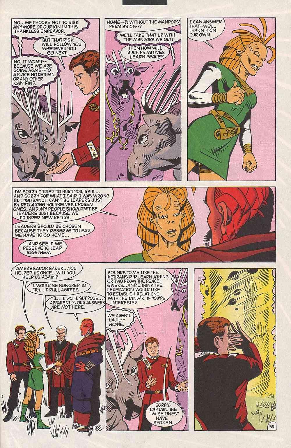 Read online Star Trek (1989) comic -  Issue # Annual 3 - 61