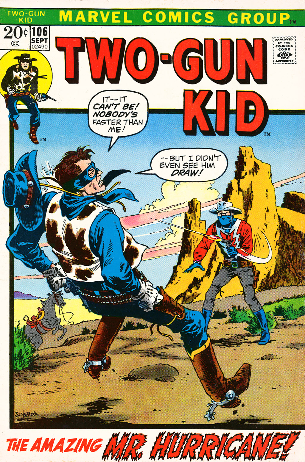 Read online Two-Gun Kid comic -  Issue #106 - 1