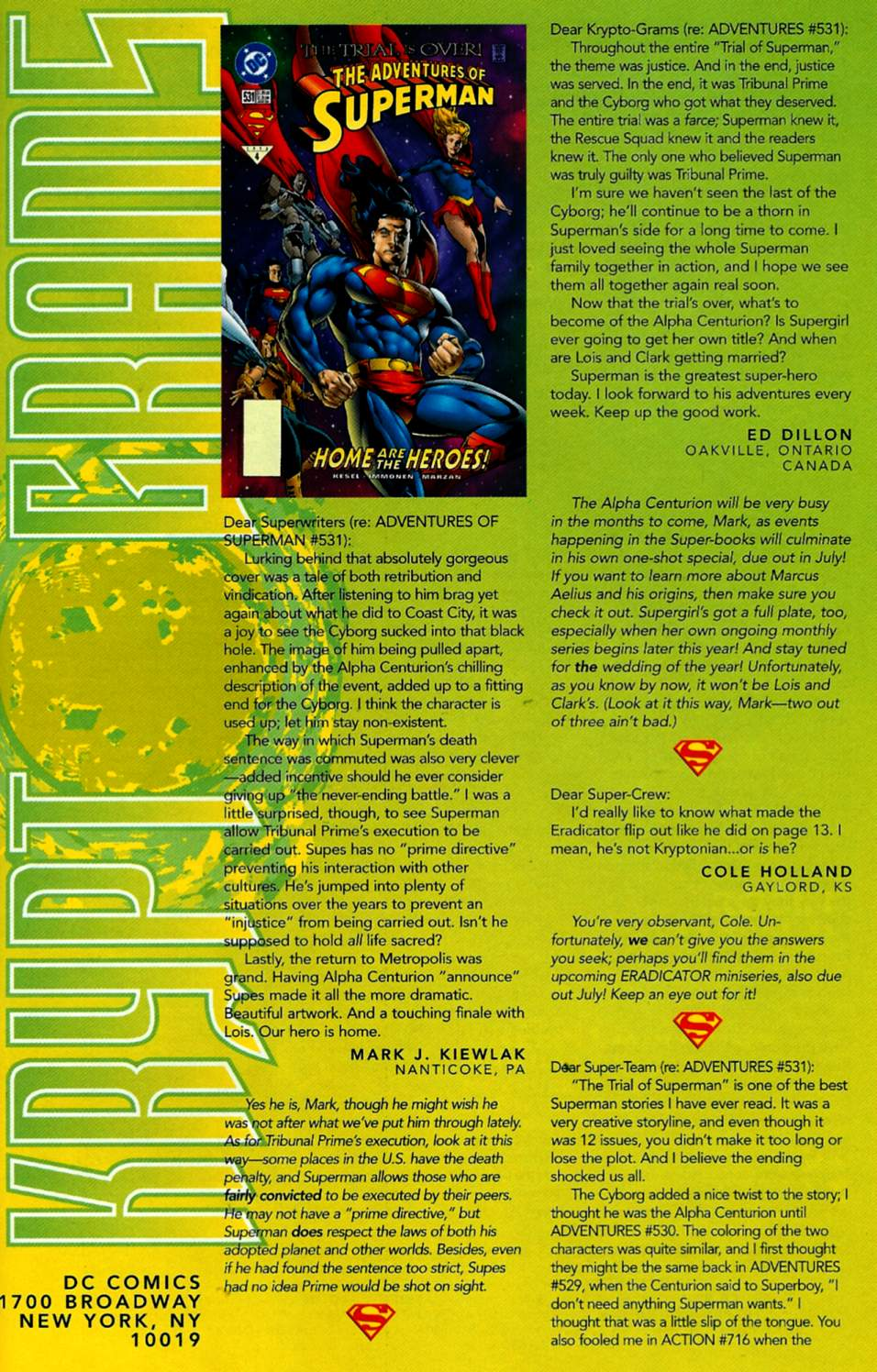 Read online Adventures of Superman (1987) comic -  Issue #535 - 24