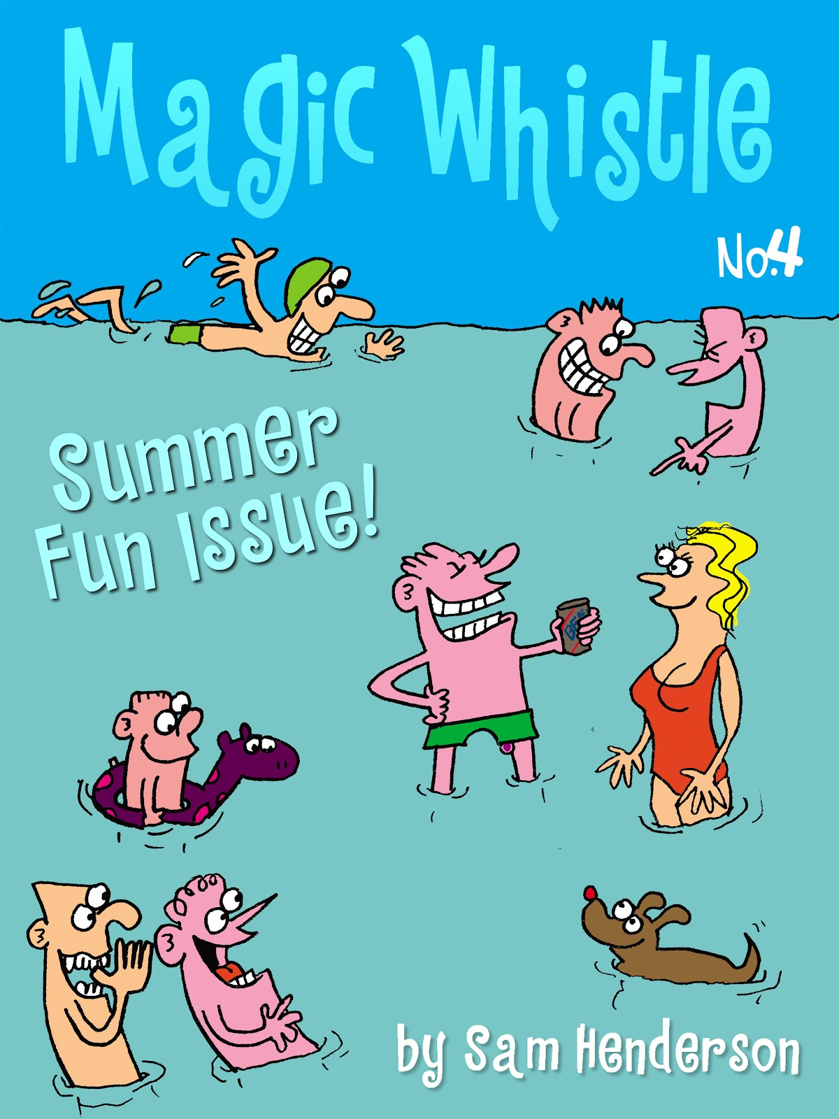 Read online Magic Whistle comic -  Issue #4 - 1