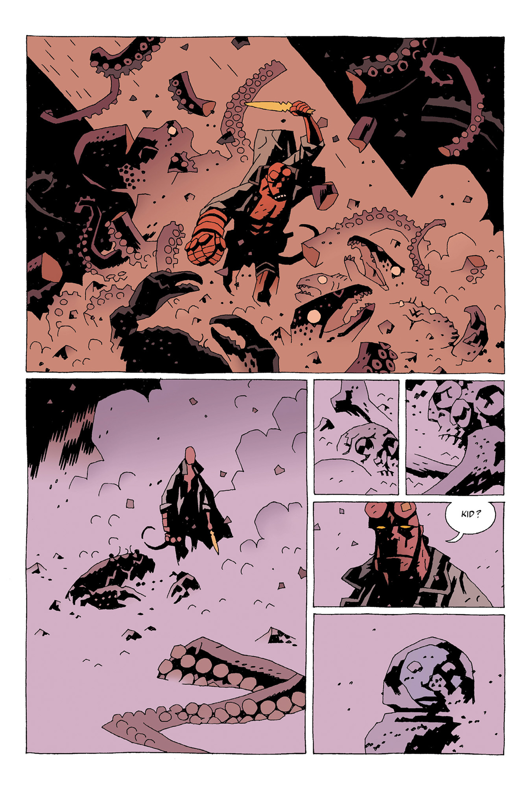 Read online Hellboy: Strange Places comic -  Issue # TPB - 58