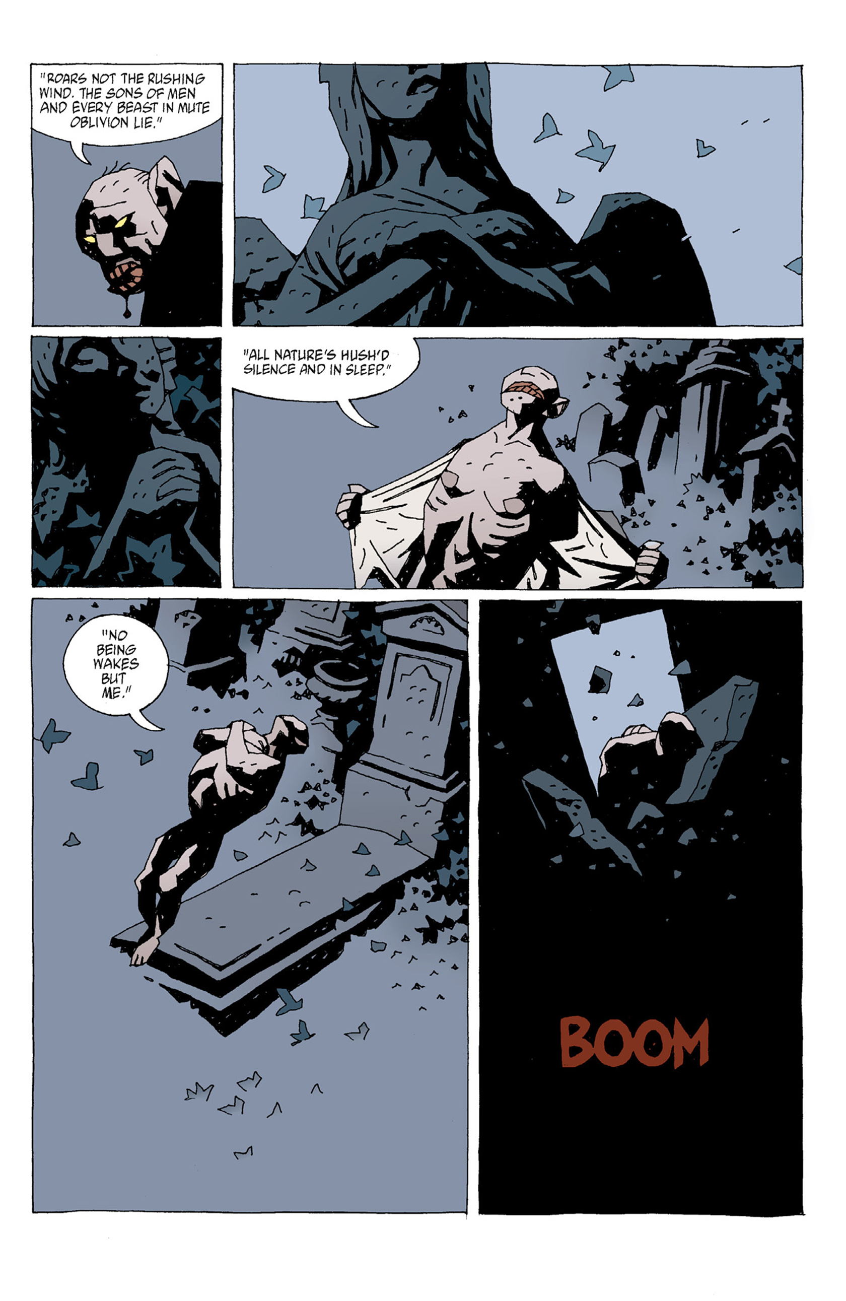 Read online Hellboy: The Troll Witch and Others comic -  Issue # TPB - 77