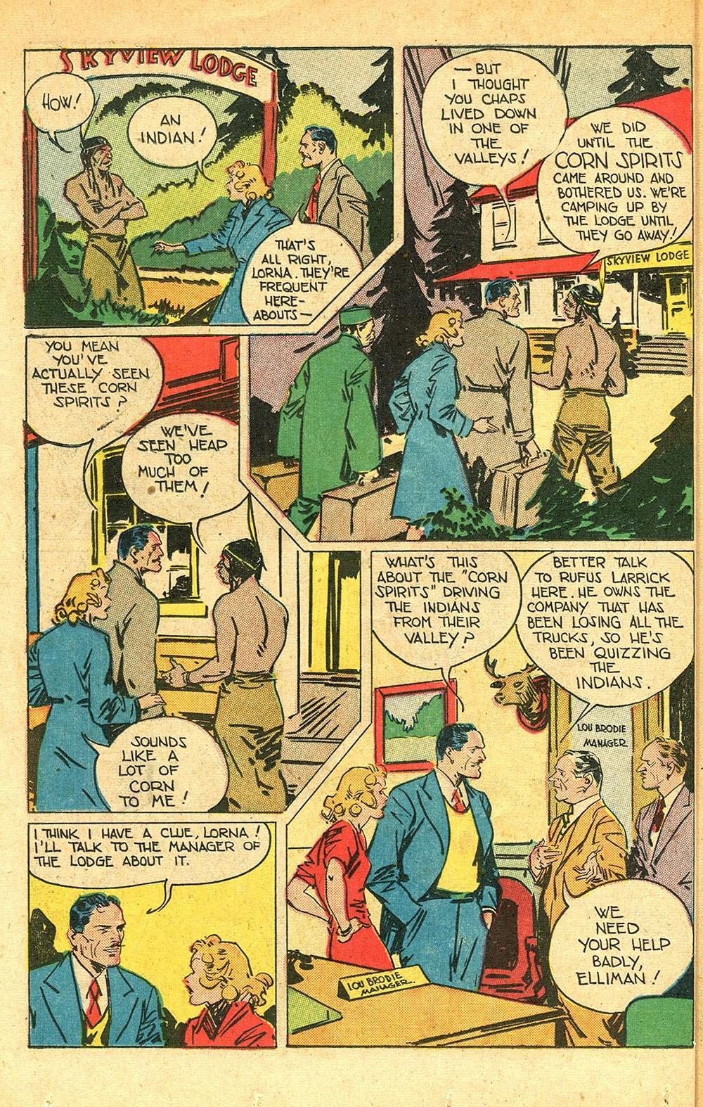 Read online Super-Magician Comics comic -  Issue #56 - 38
