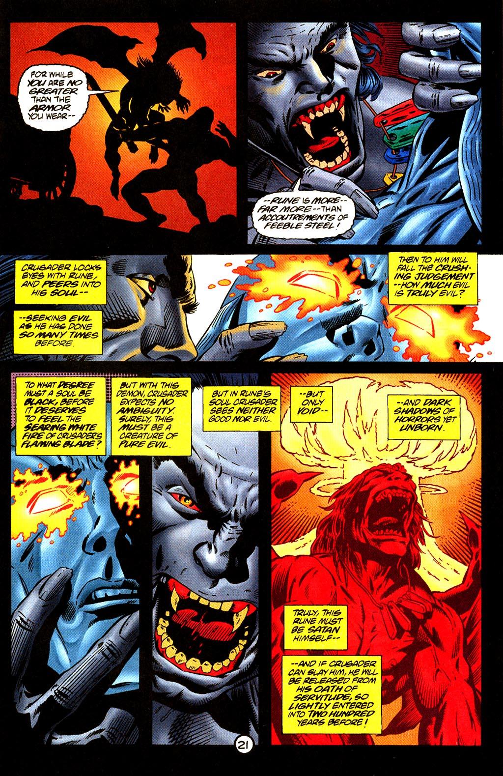 Read online Rune (1995) comic -  Issue #4 - 23