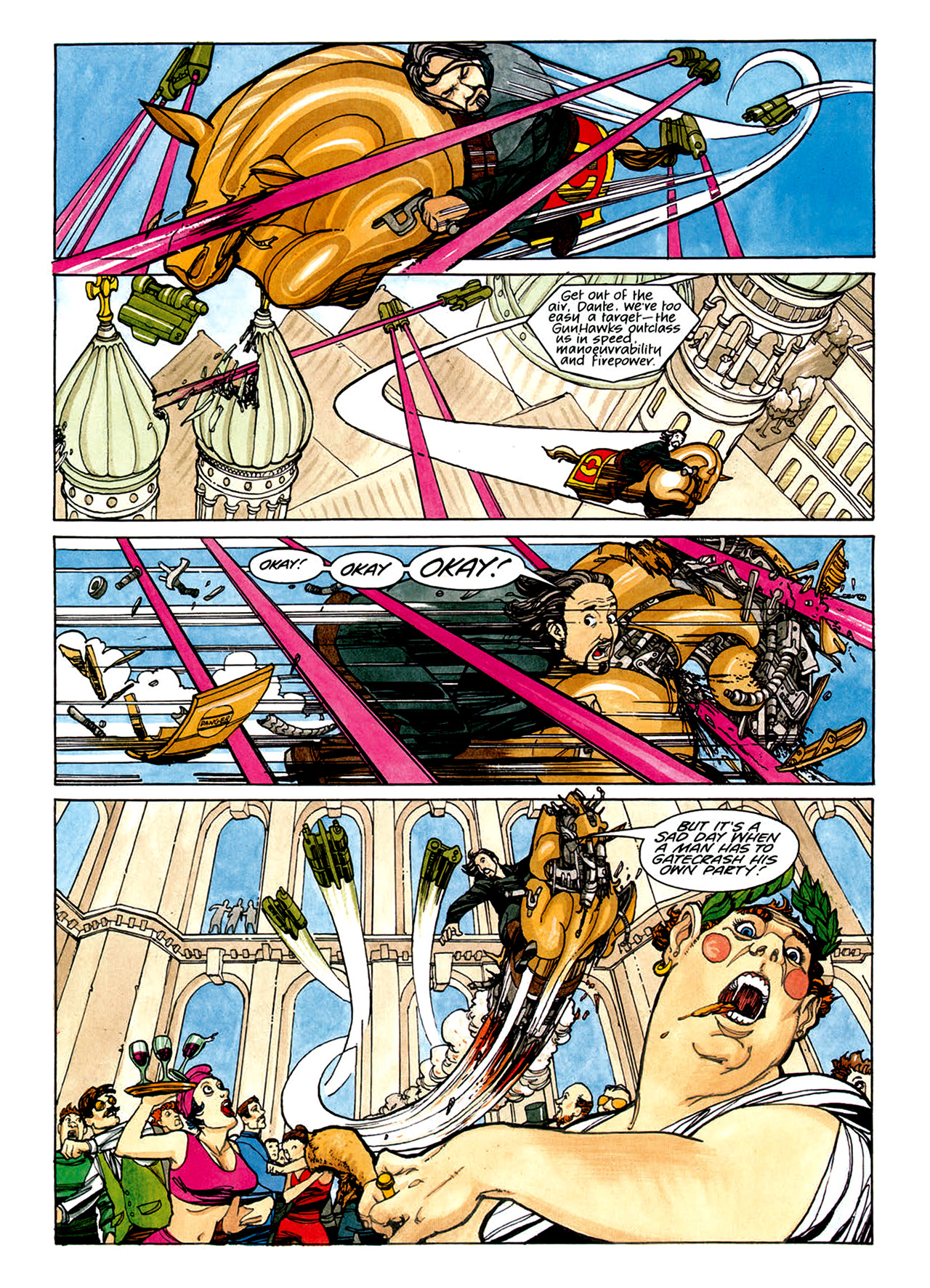 Read online Nikolai Dante comic -  Issue # TPB 1 - 117