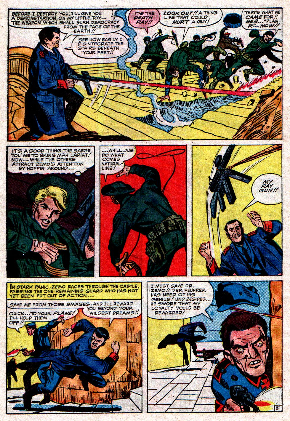 Read online Sgt. Fury comic -  Issue #8 - 30