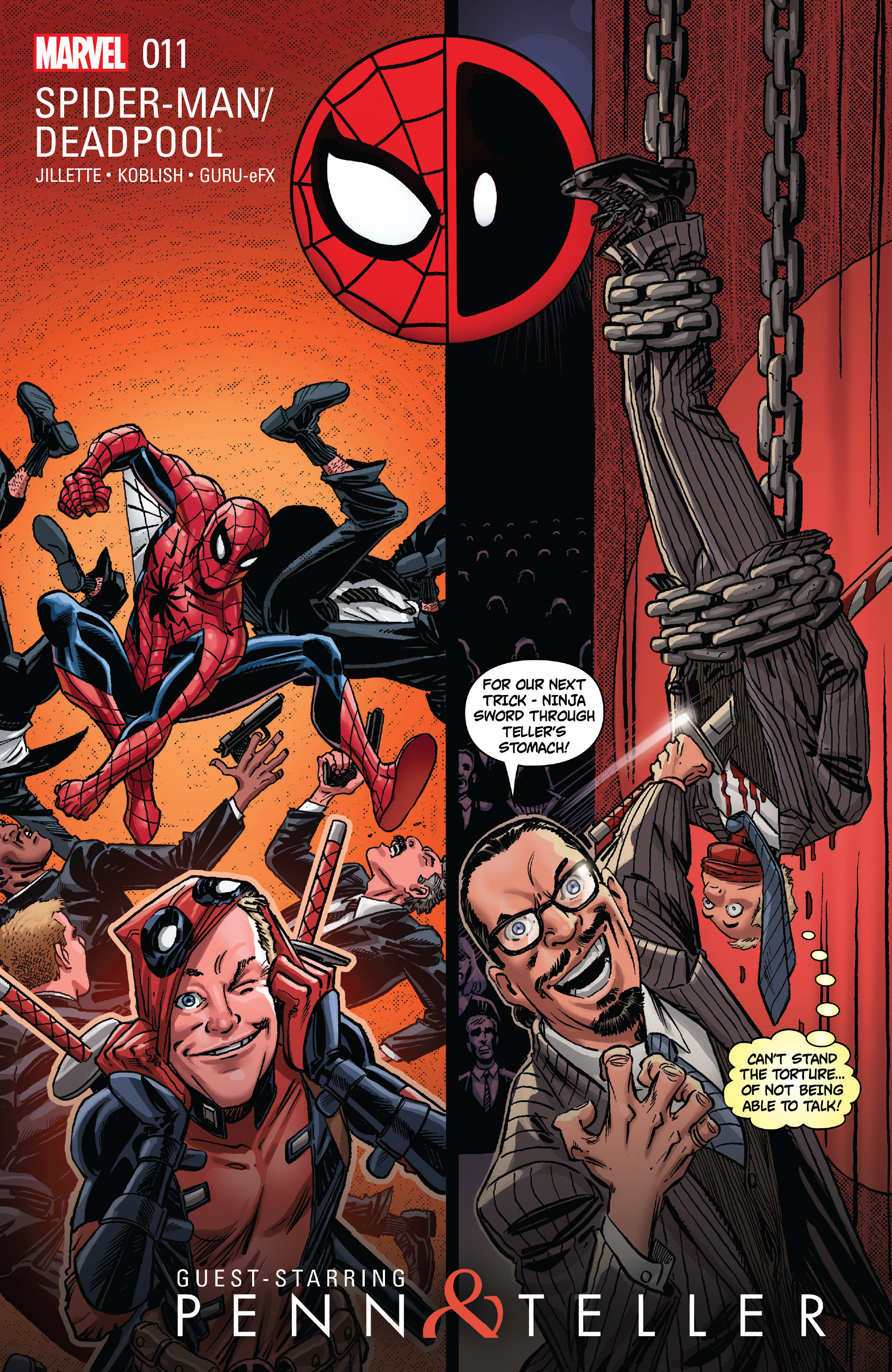 Spider-Man/Deadpool 11 Page 1