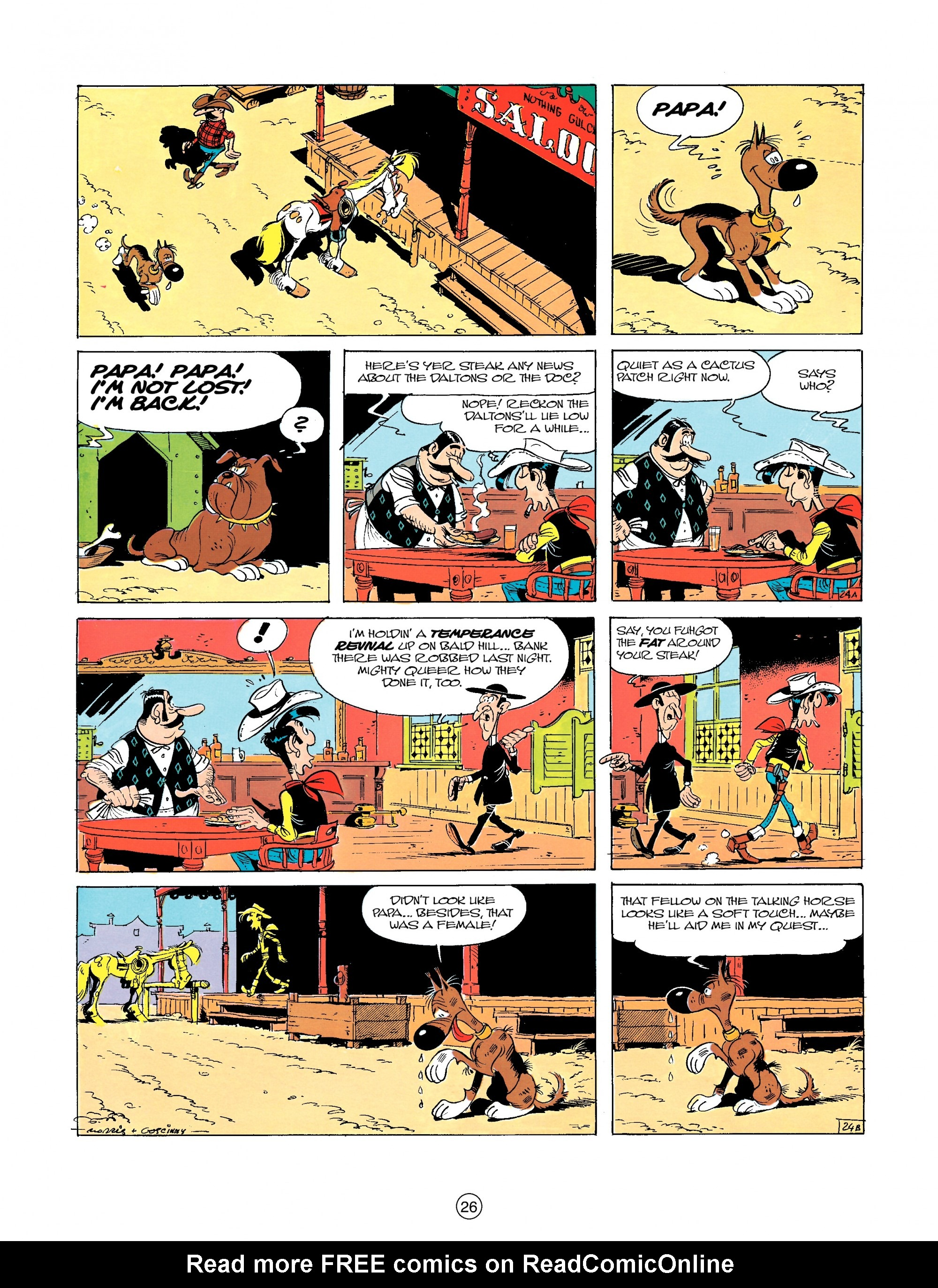Read online A Lucky Luke Adventure comic -  Issue #23 - 26