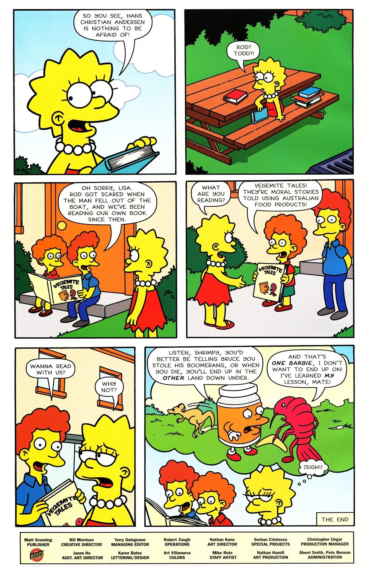 Read online Simpsons Comics comic -  Issue #148 - 27