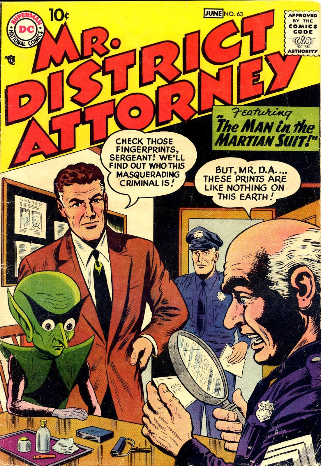 Mr. District Attorney issue 63 - Page 1