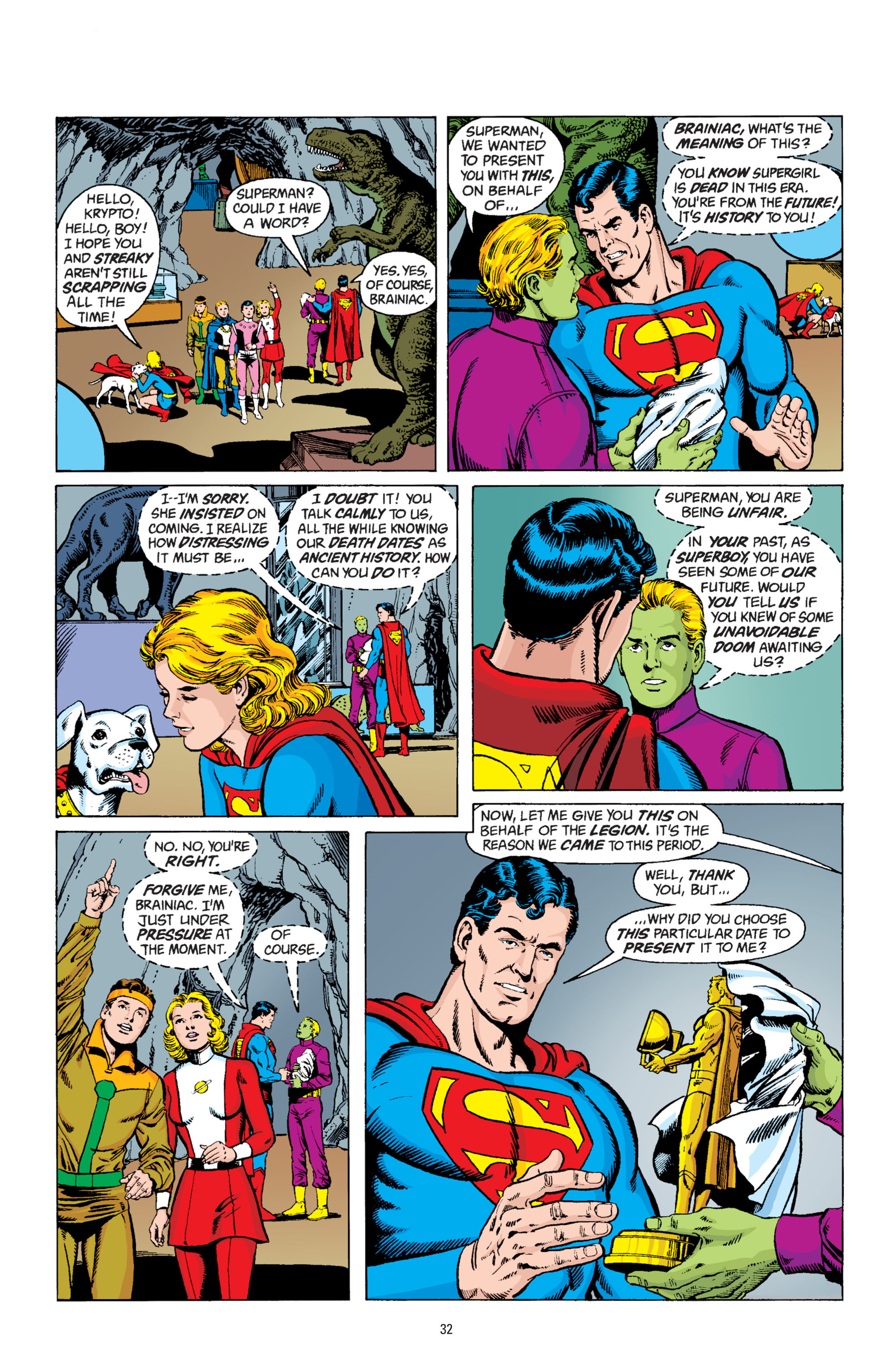 Read online Superman: Whatever Happened to the Man of Tomorrow? comic -  Issue # TPB - 31