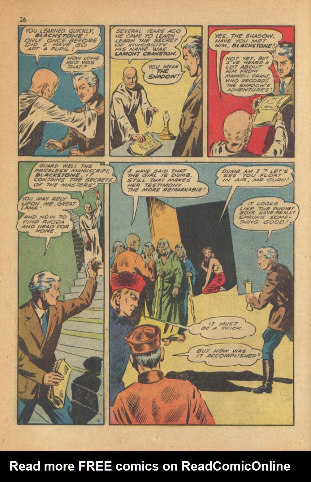 Read online Super-Magician Comics comic -  Issue #13 - 26