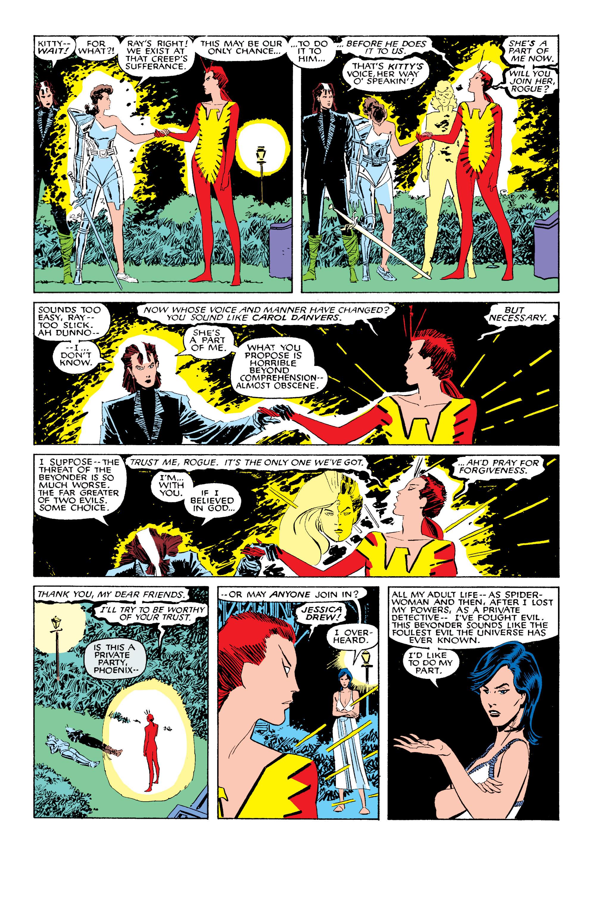 Read online Uncanny X-Men (1963) comic -  Issue #203 - 9