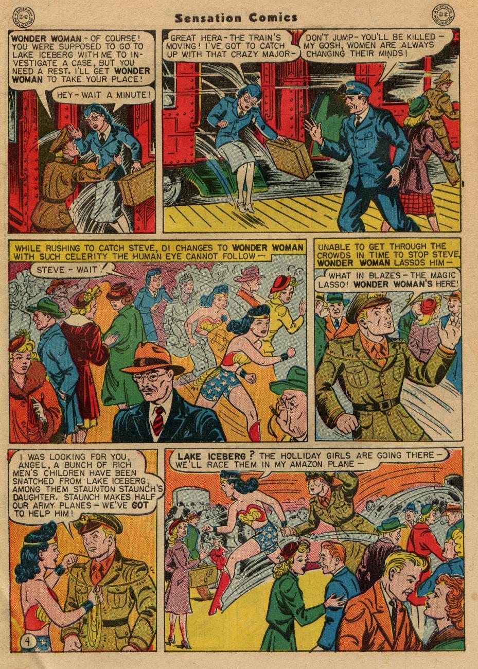 Read online Sensation (Mystery) Comics comic -  Issue #49 - 6
