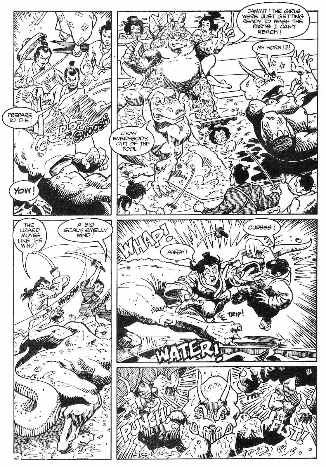 Dinosaurs For Hire (1988) issue 8 - Page 18