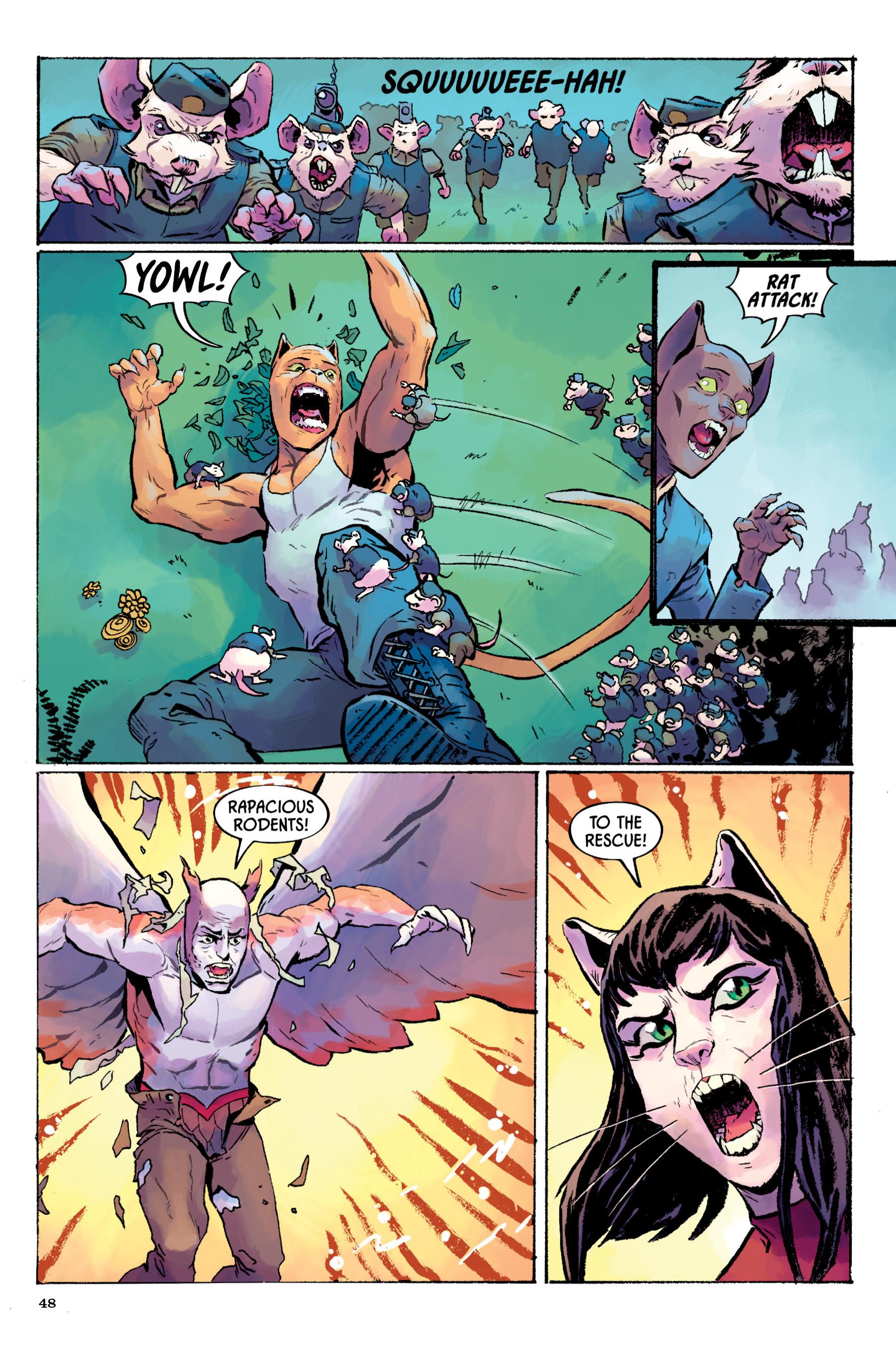 Read online Angel Catbird comic -  Issue # TPB 2 - 49