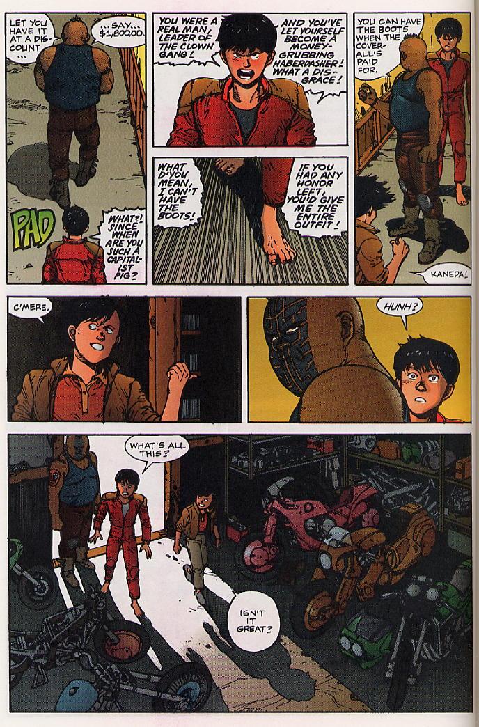Read online Akira comic -  Issue #24 - 56