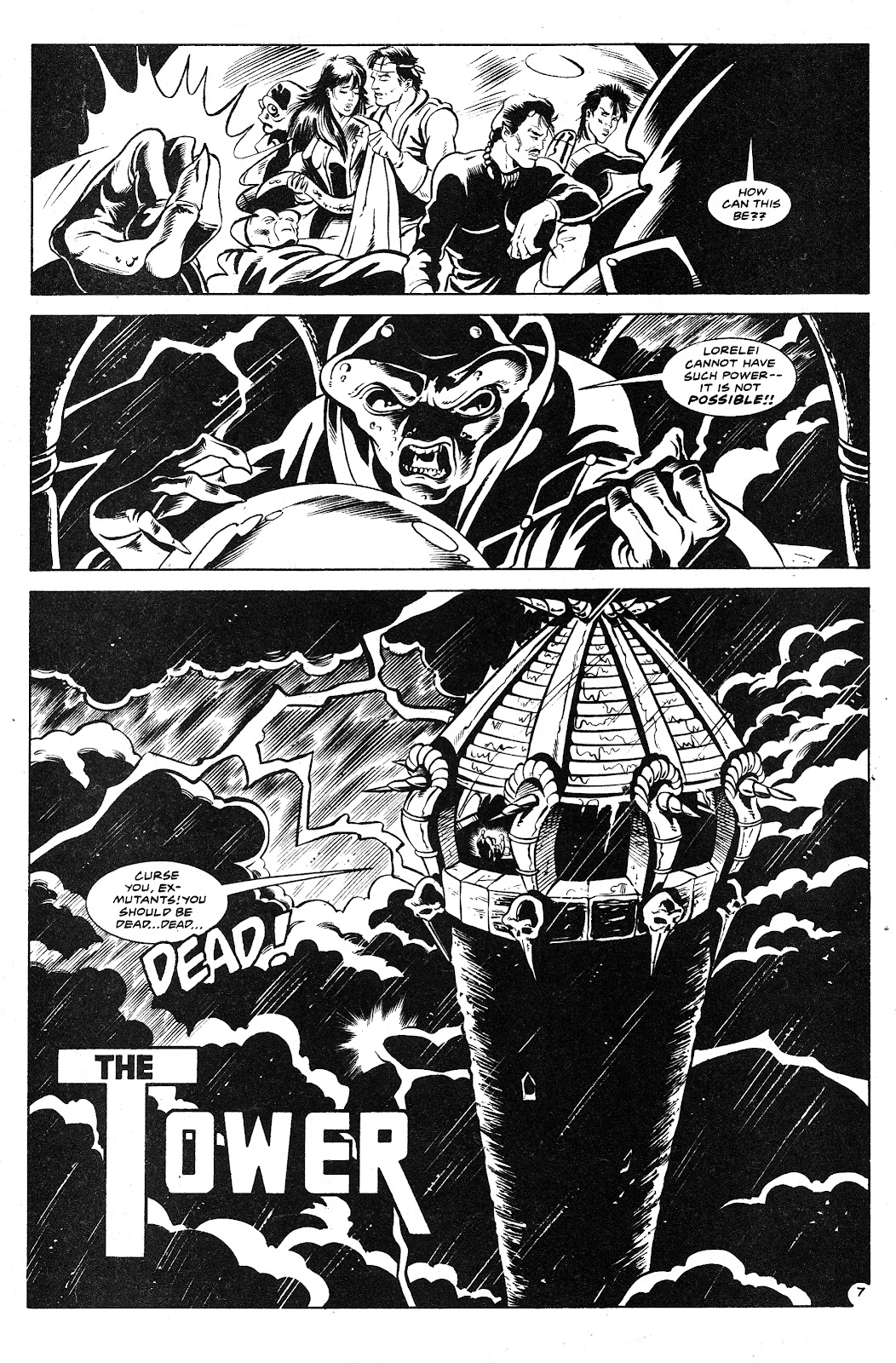 Ex-Mutants: The Shattered Earth Chronicles issue 9 - Page 9