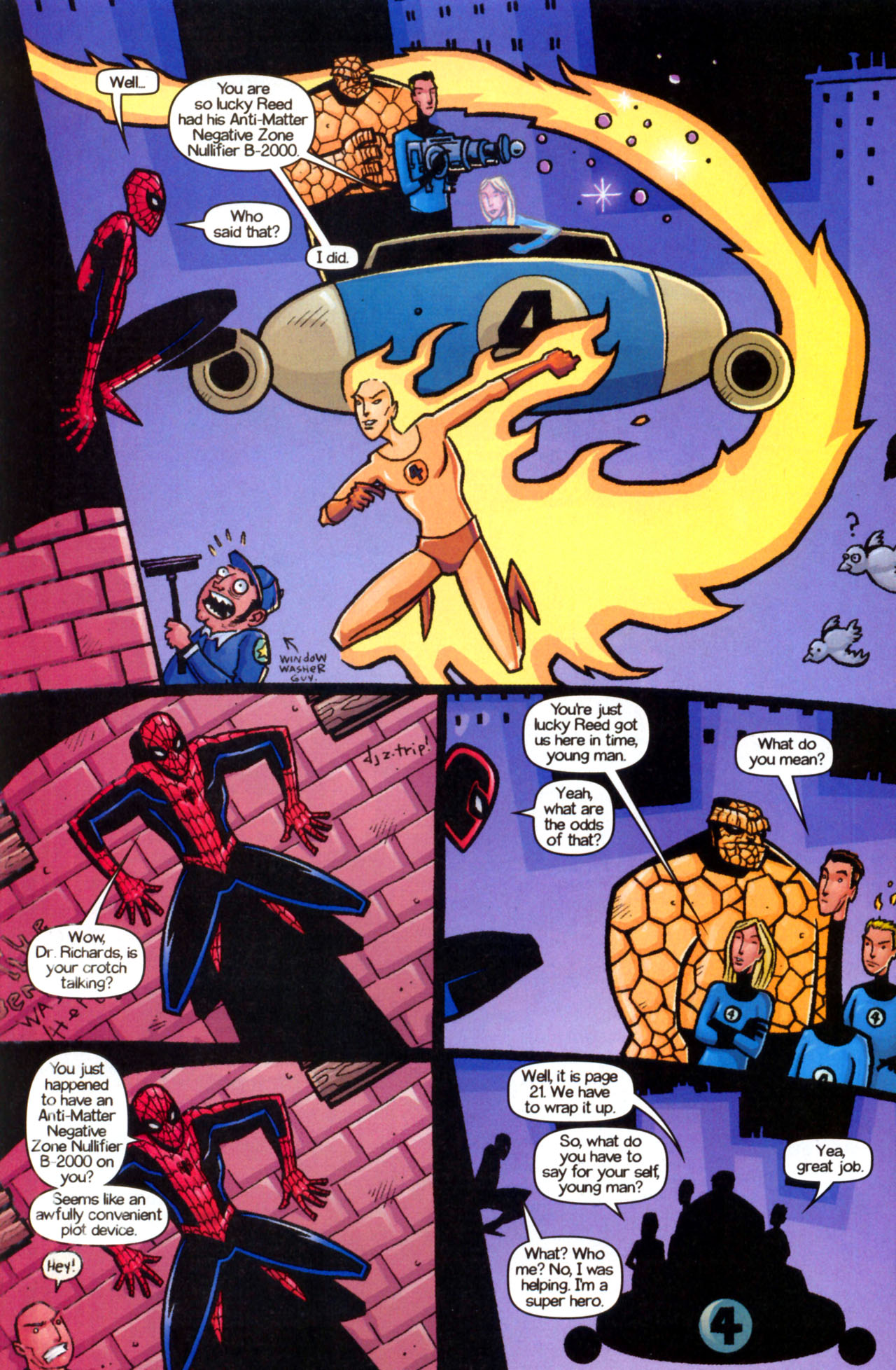 Read online Ultimate Marvel Team-Up comic -  Issue #9 - 28