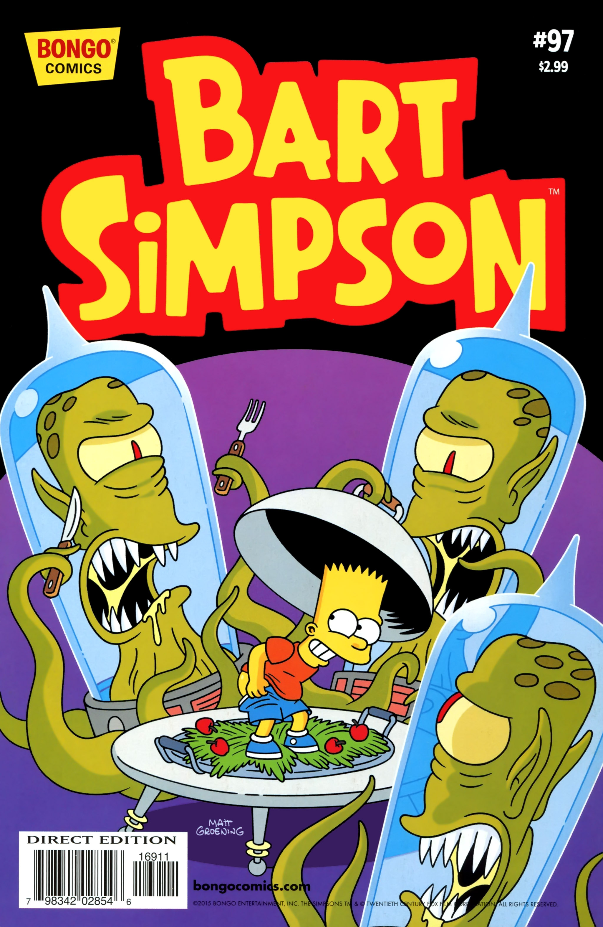 Read online Simpsons Comics Presents Bart Simpson comic -  Issue #97 - 1
