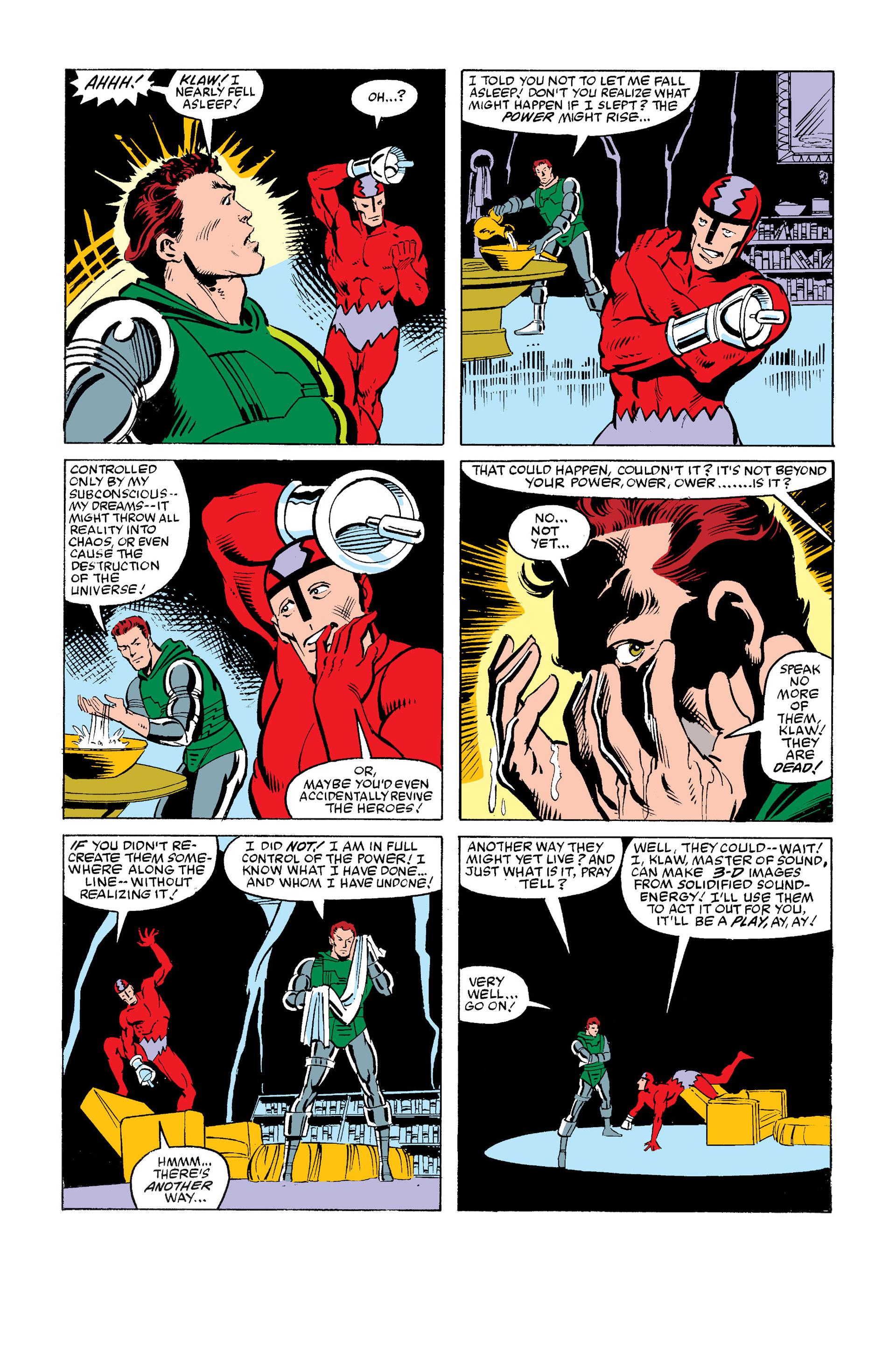 Read online Secret Wars (1985) comic -  Issue #12 - 15