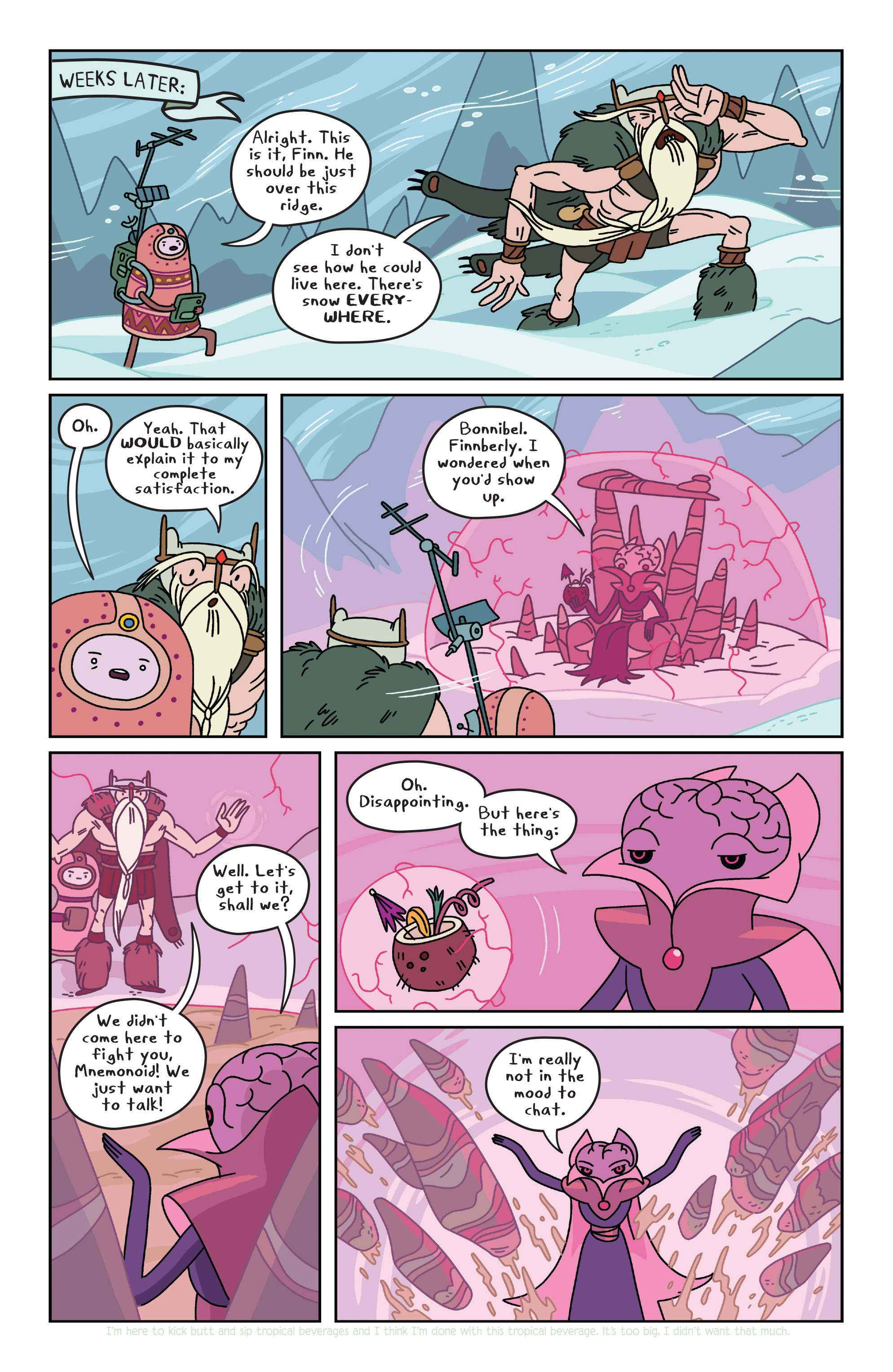 Read online Adventure Time comic -  Issue #34 - 9