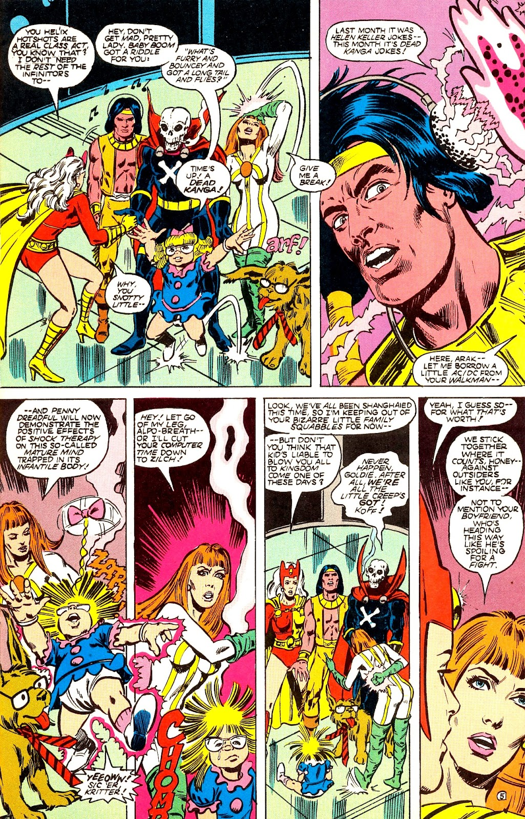 Infinity Inc. (1984) issue 22 - Page 7