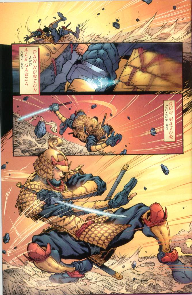Read online Ninja Boy comic -  Issue #1 - 3