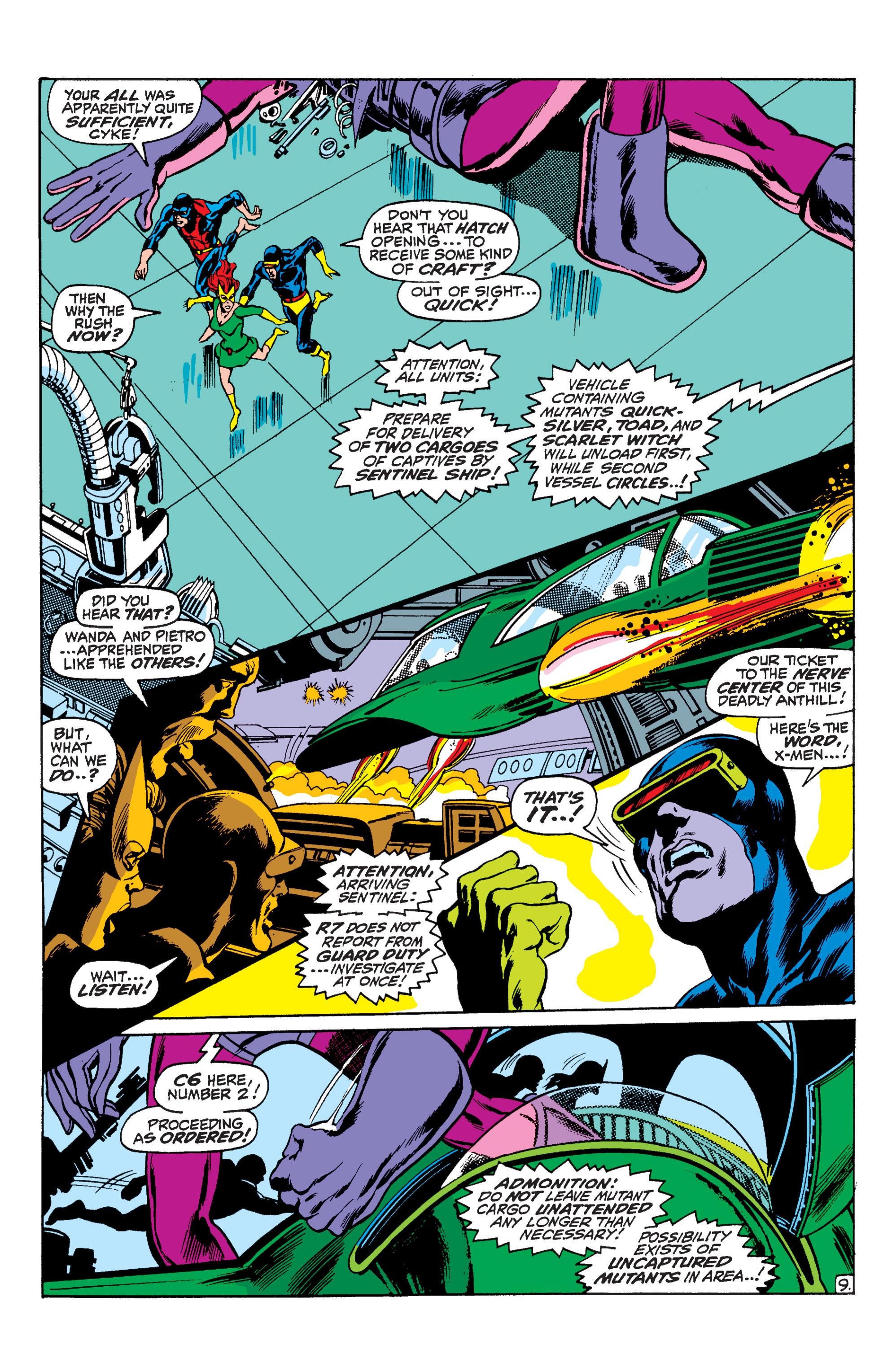 Read online Uncanny X-Men (1963) comic -  Issue #59 - 10