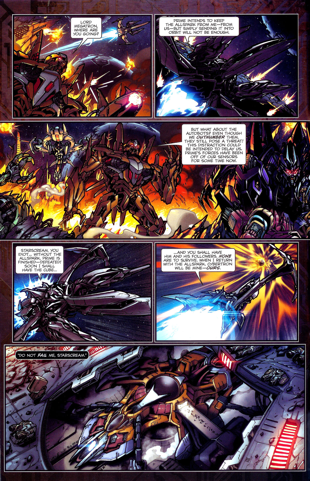 Read online Transformers: The Reign of Starscream comic -  Issue #1 - 5