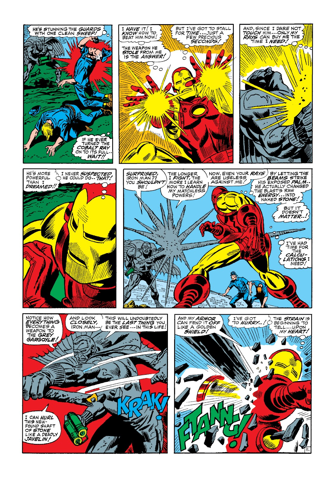 Read online Marvel Masterworks: The Invincible Iron Man comic -  Issue # TPB 4 (Part 2) - 73