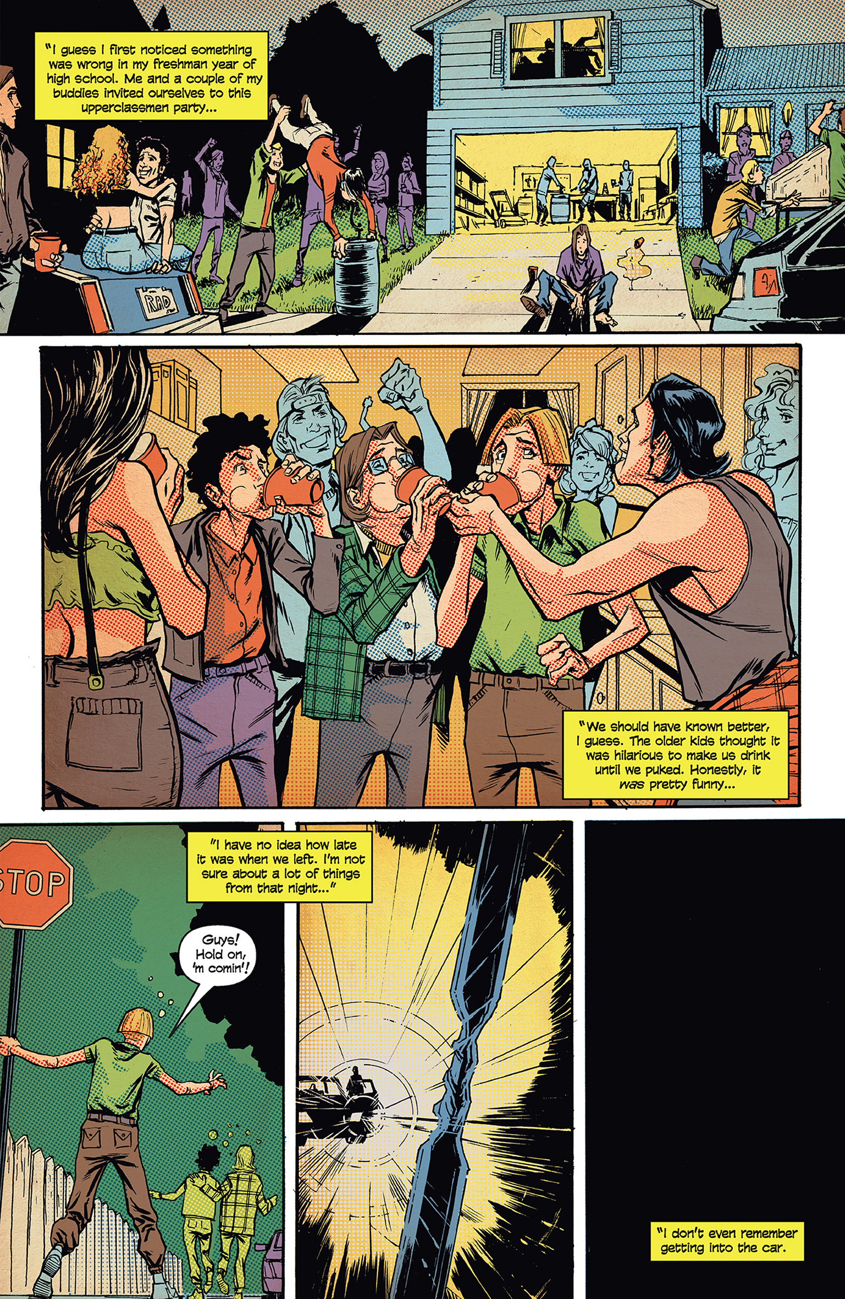 Read online Buzzkill comic -  Issue #1 - 9