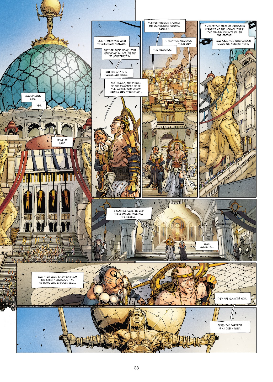 Read online Chronicles of the Dragon Knights comic -  Issue #20 - 38
