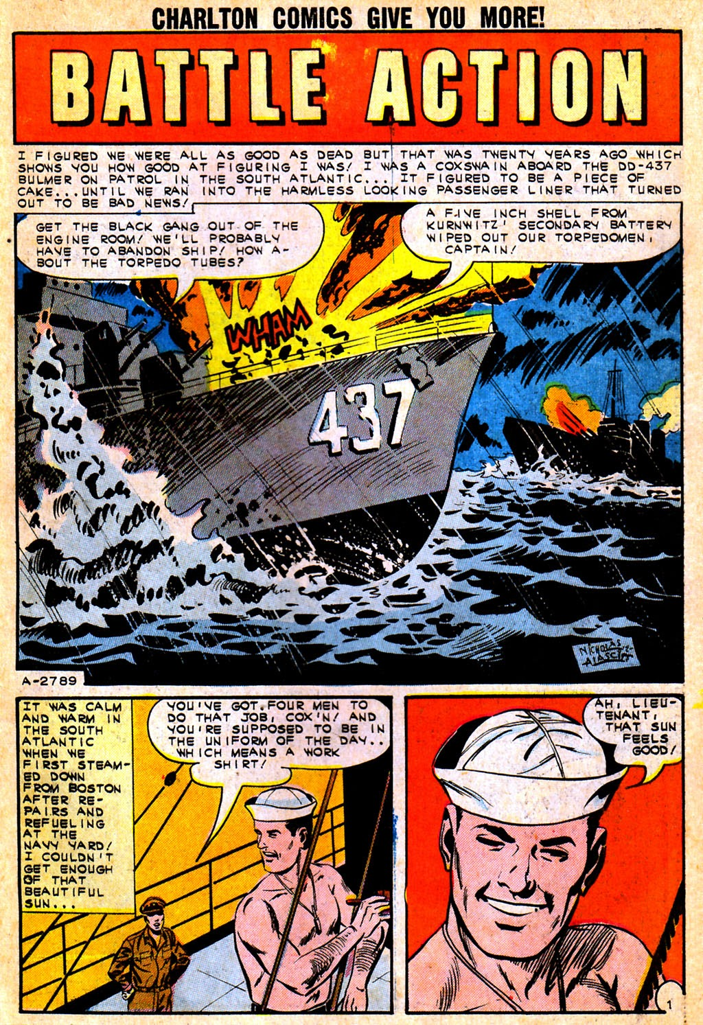 Read online Fightin' Navy comic -  Issue #111 - 27