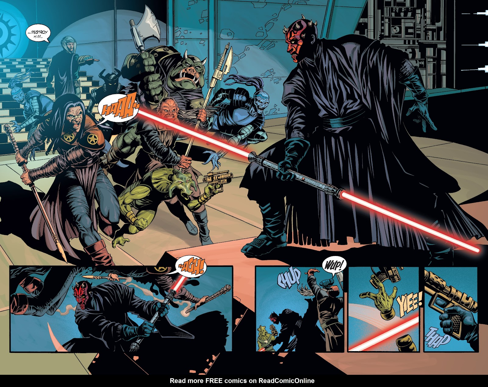 Read online Star Wars Legends: Rise of the Sith - Epic Collection comic -  Issue # TPB 2 (Part 3) - 9