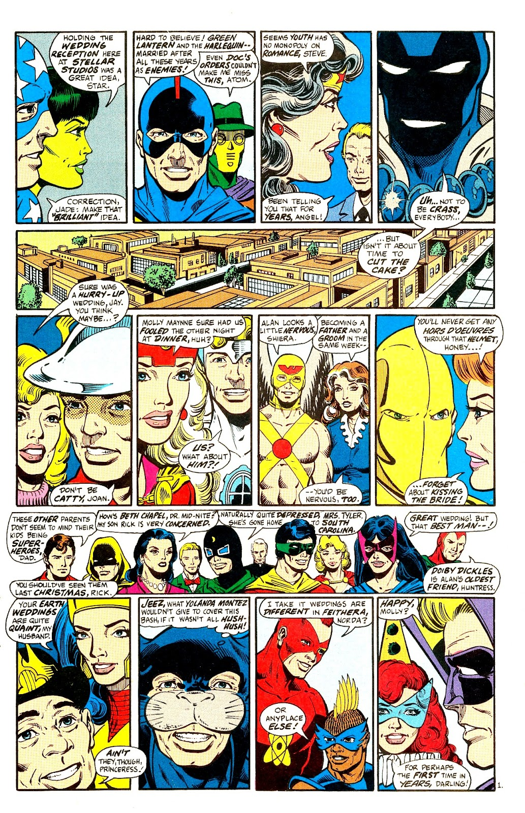 Infinity Inc. (1984) issue 21 - Page 3
