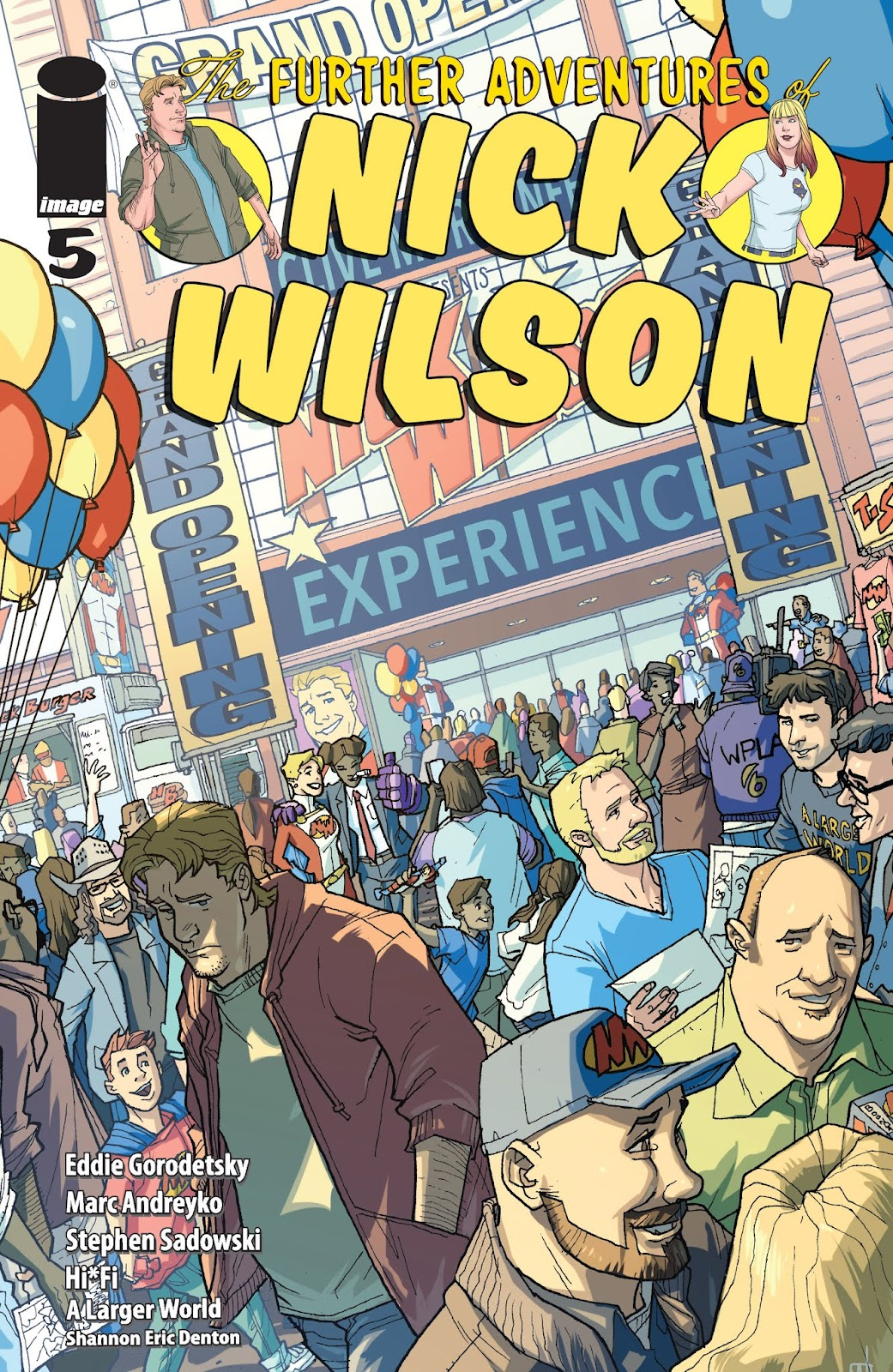The Further Adventures of Nick Wilson issue 5 - Page 1