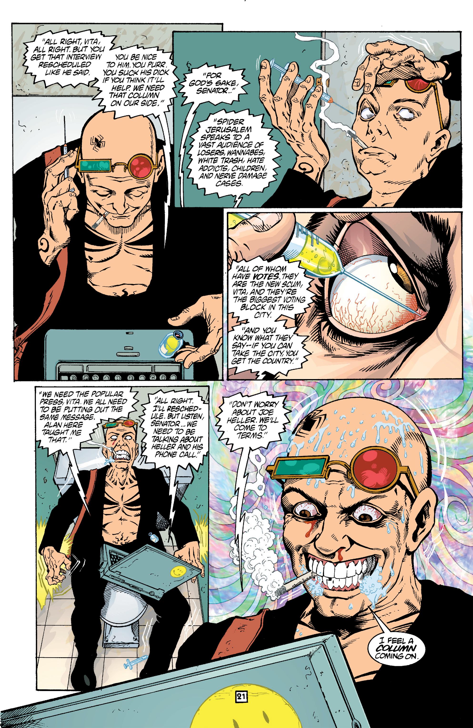 Read online Transmetropolitan comic -  Issue #14 - 22