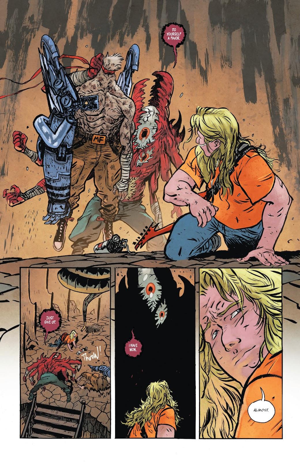 Read online Murder Falcon comic -  Issue #8 - 14