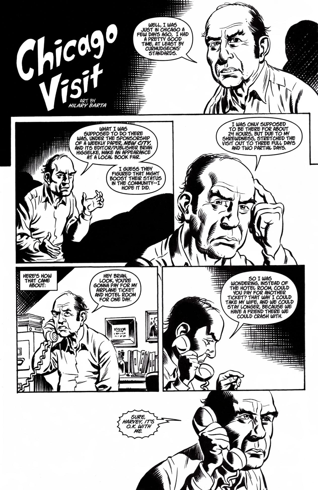 Read online American Splendor (2008) comic -  Issue #1 - 16