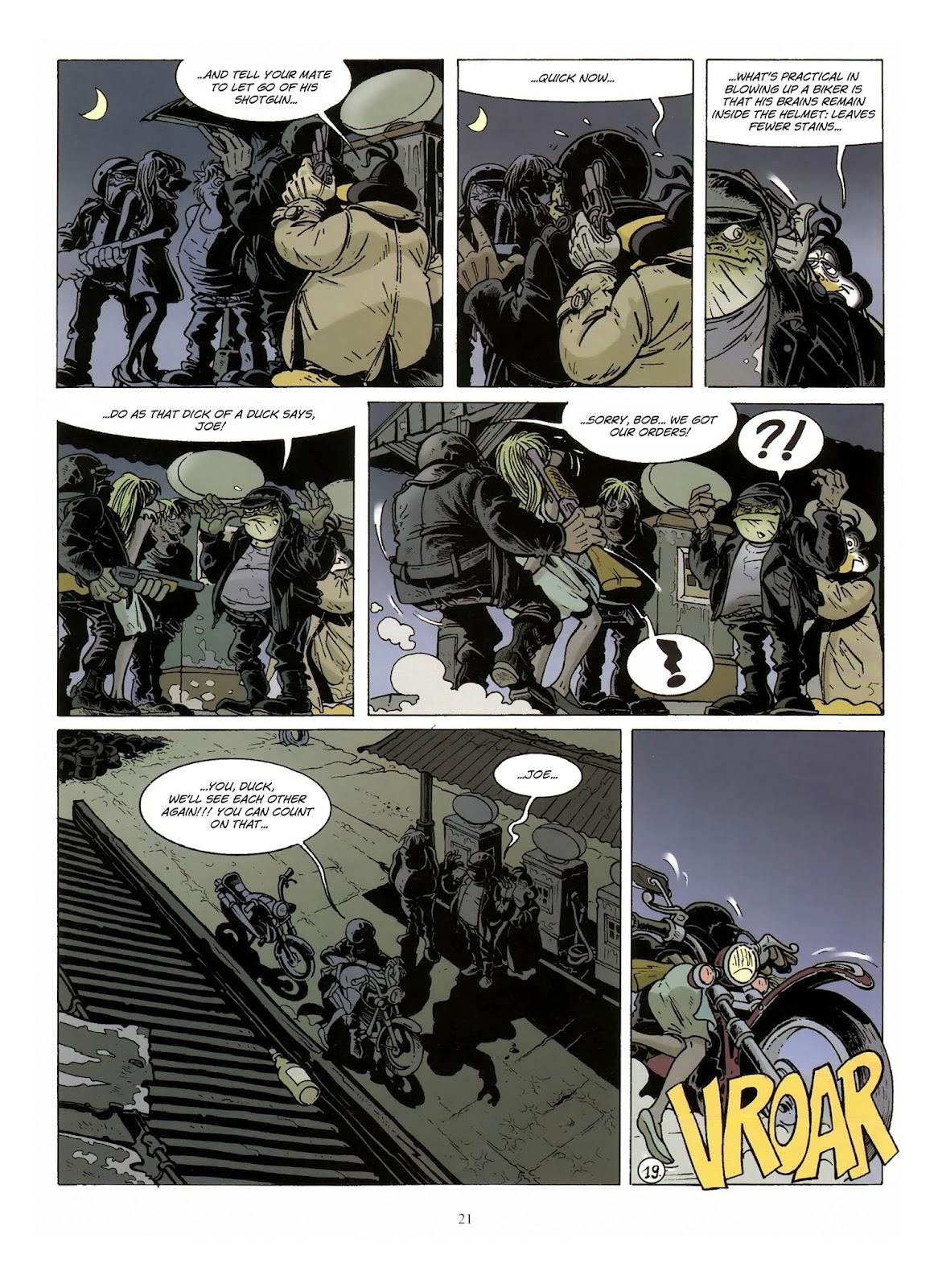 Une enquête de l'inspecteur Canardo issue 10 - Page 22